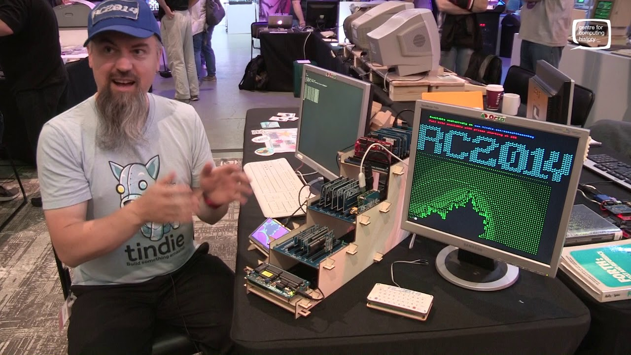 RC2014 - Homebrew Z80 Computer - Retro Computer Festival 2017 - Part 2