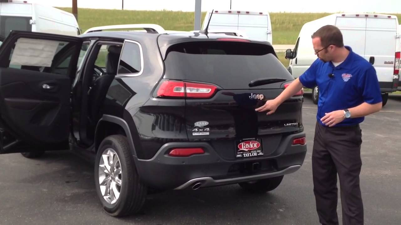 2014 Jeep Cherokee Walk Around   Taylor Chrysler Dodge Ram ...