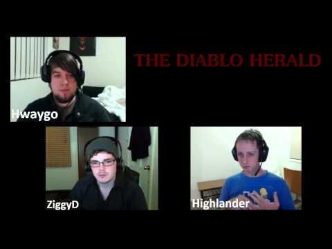 Diablo Herald Episode - 12 - Magicfind and Gold sold in RMAH