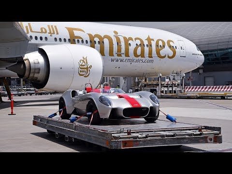U.A.E. supercar flies on Emirates | Emirates SkyCargo