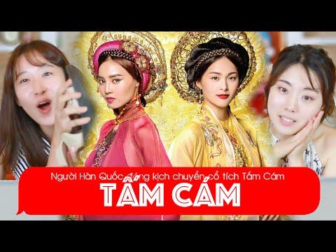 3 người Hàn Quốc diễn kịch Tấm Cám? | Khoa Tieng Viet