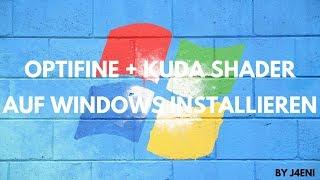 OptiFine + Kuda Ultra Shader unter Windows installieren | J4eni Video #4 | Deutsch/German