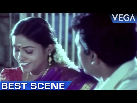 Saranya Ponvannan Meets Nizhalgal Ravi at Temple || Meendum Savithri Movie || Best Scene thumbnail