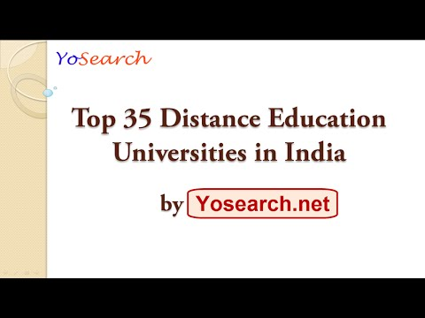 Top 35 Distance Education Universities in India | Best Distance | Top Distance Education