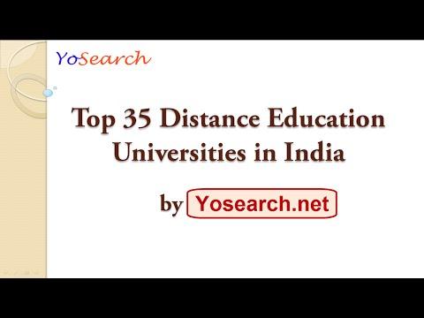 Top 35 Distance Education Universities in India | Best Distance | Top Distance Education