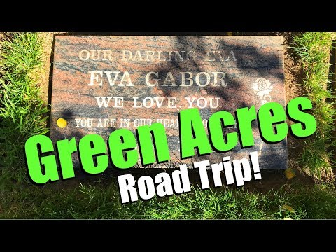 GREEN ACRES - Visiting Their Graves & Remembering The Cast Of The 1960s And '70s TV Show