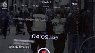 Hör den misstänkte bedragarens telefonsamtal