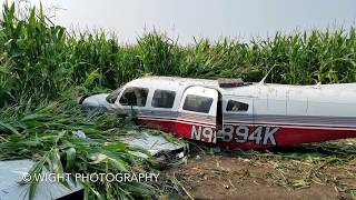Small Plane Crash in South Beloit IL August 12 2018