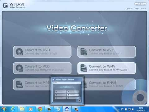 Converter vídeo para DVD ou VCD