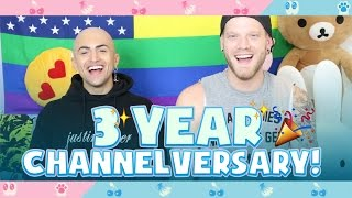 3 YEAR CHANNELVERSARY!