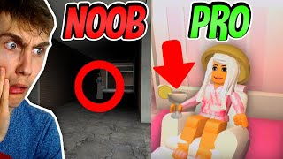 NOOB VS PRO HOTELKAMER IN ROBLOX!