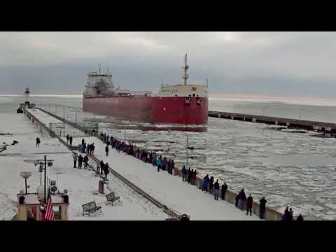 Baie St  Paul arrived Duluth 03/27/2018