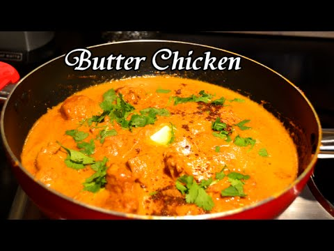 ' BUTTER CHICKEN ' Bajias Cooking | FunnyCat.TV