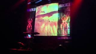 Hocico - Intro Tiempos De Furia Tour and Flesh To Lacerate LIVE @ Forbrændingen Denmark