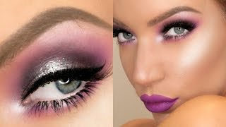 Purple Lightening Makeup Tutorial | Stephanie Lange