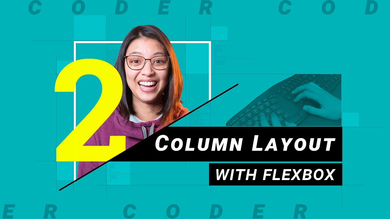Download How to build a 2-column layout using flexbox   HTML/CSS