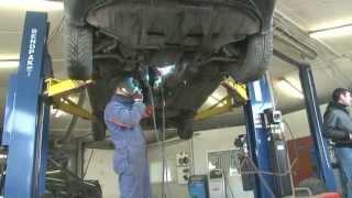 Замена катализатора и замена гофры  на Audi 6.Замена катализатора в СПБ .(, 2013-03-23T11:51:35.000Z)
