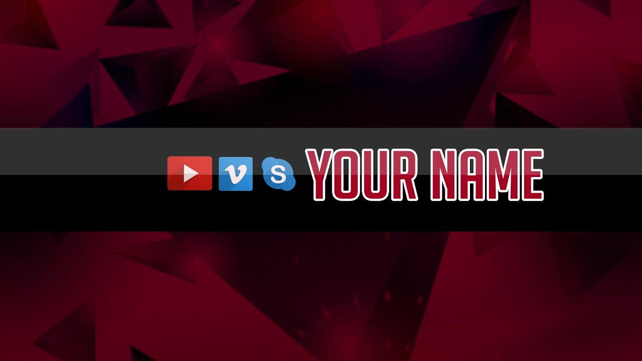 AGD Youtube Banner Free .PSD