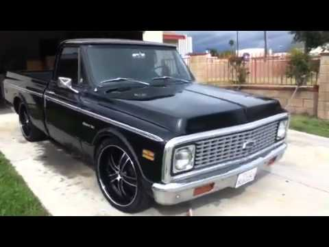 71 chevy short bed custom-10 - YouTube