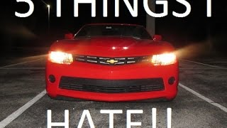 5 Things I Hate About My 2015 Camaro