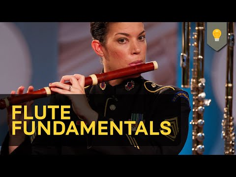 Flute Fundamentals was produced while I was serving as Flute Section Leader with the U.S. Army Field Band.