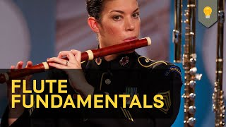 Flute Fundamentals [HD](The flute section of The U.S. Army Field Band brings a wealth of performance and teaching experience to Flute Fundamentals, the latest in the Army Field Band ..., 2013-01-23T15:20:57.000Z)