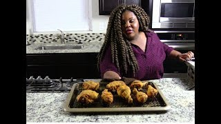 Best Oven Fried Chicken Recipe -  Easy Chicken Recipe -I Heart Recipes w/ Rosie Mayes