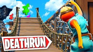 The EASY Default Puzzle Deathrun! (Fortnite Creative Mode)