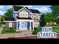 8 Sim Starter House!    The Sims 4 Family Home: Speed Build