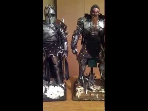 1/6 Custom Mythical Black Armored Knight Kings