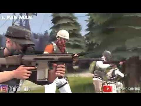 PUBG funny animation (Music Video)  Dj Qhelfin ft. Gafar - Happy Ajalah