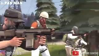 PUBG funny animation (Music Video)_ Dj Qhelfin ft. Gafar - Happy Ajalah