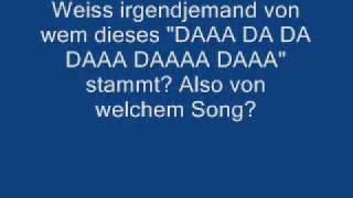 DJ Who is it - Da da da da???