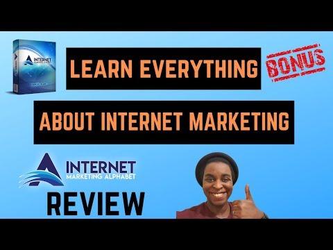 Internet Marketing Alphabet Review + Bonuses 💥 Learn Everything About Internet Marketing