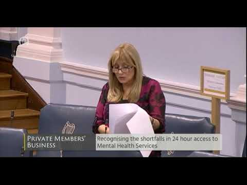 Senator Frances Black 4th Oct Shortfall On 24 Hour Mental Health