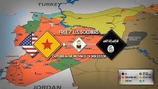 7 ноября 2018. Военная обстановка в Сирии. Сообщения об освобождении 7 солдат США из плена ИГИЛ.