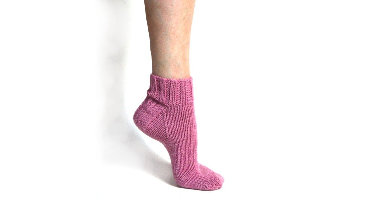 Learn to Knit Magic Loop Socks - Part 1 - YouTube