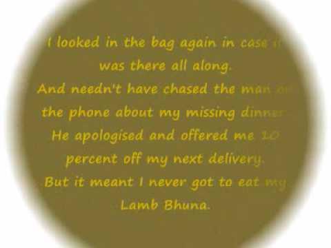 My Lamb Bhuna - Chris Moyles.