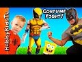 HobbyKids Dress up in COSTUMES and become their Favorite Hero