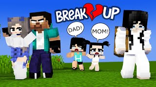 VERY SAD STORY - SADAKO AND HEROBRINE BREAK UP - POOR HEEKO AND HAIKO