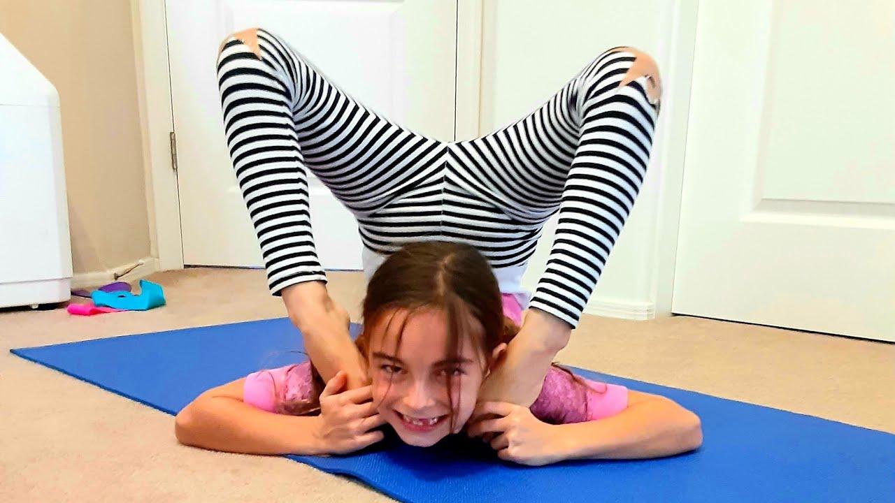 Yoga Challenge With My Sister