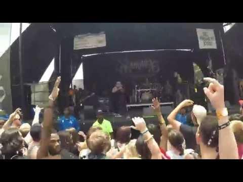 Volumes - Warped Tour '14 Atlanta