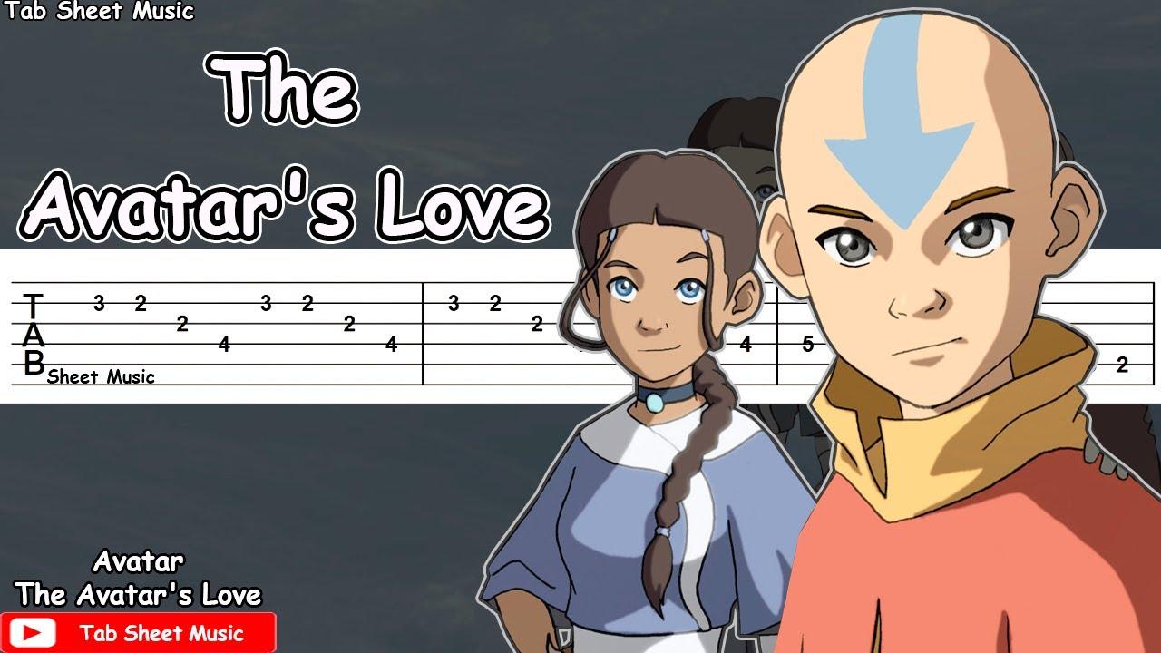 Avatar: The Last Airbender - The Avatar's Love Guitar Tutorial