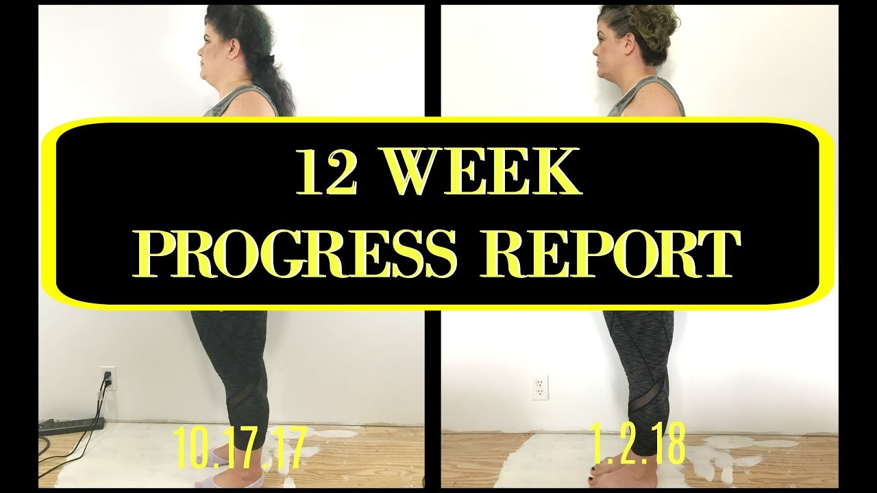 Athena 12 Week Transformation - YouTube