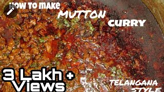 50 KG Mutton curry Telangana Style