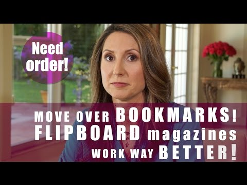 Manage Bookmarks with FLIPBOARD Magazines