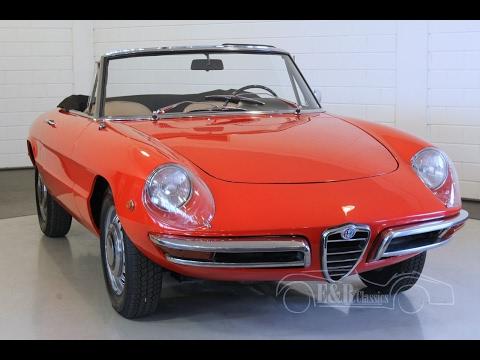 Alfa Romeo Veloce Duetto Spider 1969 - VIDEO - www.ERclassics.com