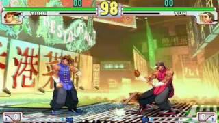 Street Fighter 3: Third Strike TA Fight - Yang Vs. Yun