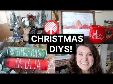 Dollar Tree Farmhouse Christmas DIYs 🎅🎄