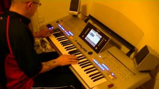 You take the high road and I'll take the low road  - Yamaha Tyros 4